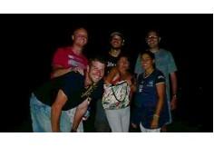 Foto del grupo en salida academica