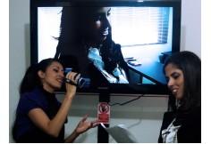 Ejercicios frente a cámara de video y constante retroalimetnación.