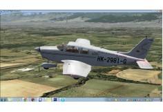 Skin Escuela de Aviación del Pacífico para Fsx